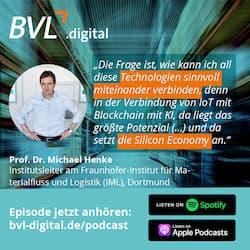 #12: Prof. Dr. Michael Henke  über Supply Chain Finance, Blockchain und die Silicon Economy