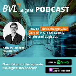 #13: How to Turbocharge your Career in Global Supply Chain and Logistics