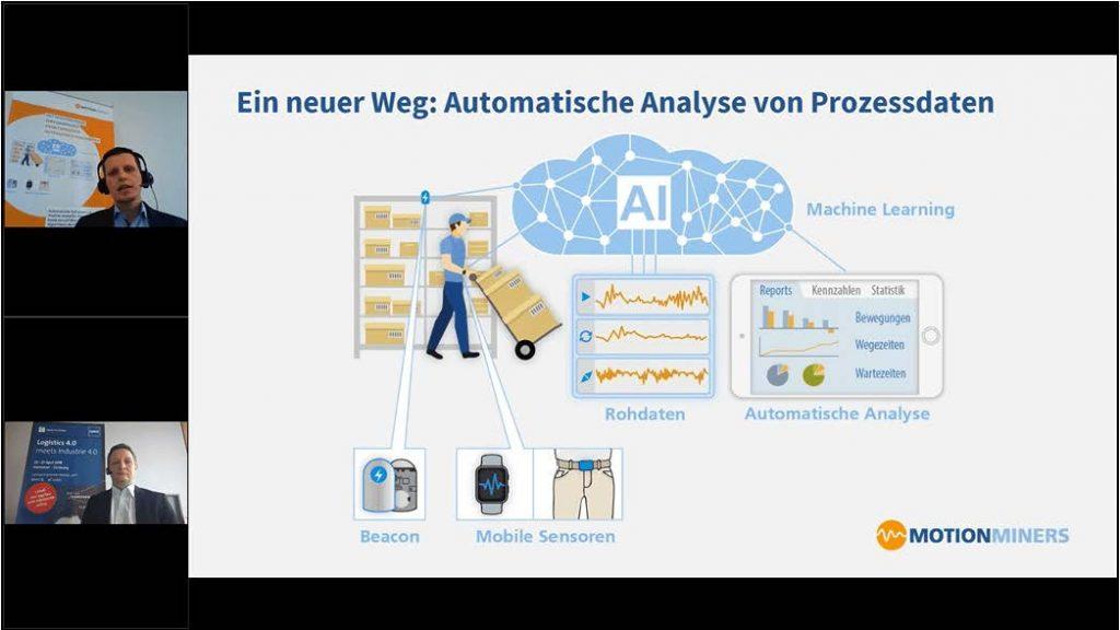 Mit Bewegungsdaten zur automatischen Prozessanalyse – Optimierungspotenziale nutzen in der Intralogistik