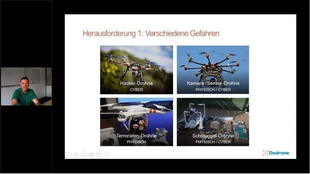 Umgang mit unerwünschten Drohnen – Erweiterung bestehender Sicherheitskonzepte