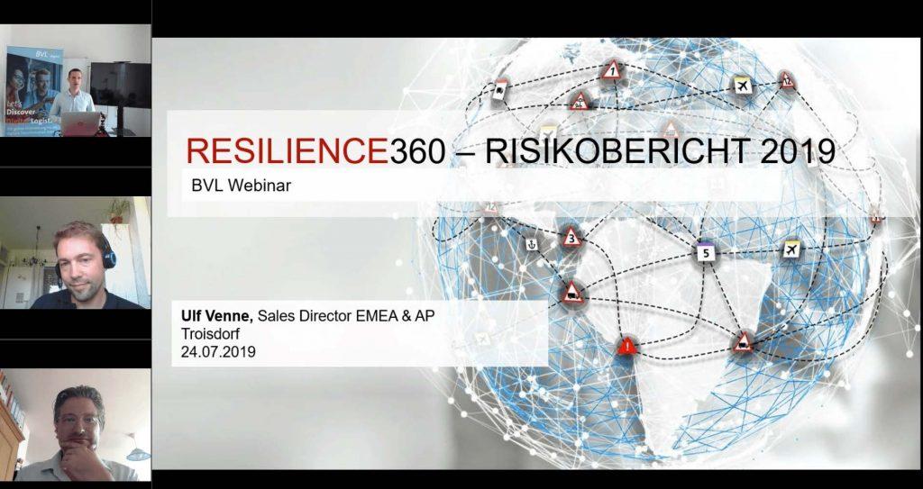 Volles Risiko in der Logistik? Globale Risiken in 2019/2020 und Implikationen für den deutschen Wirtschaftsbereich Logistik