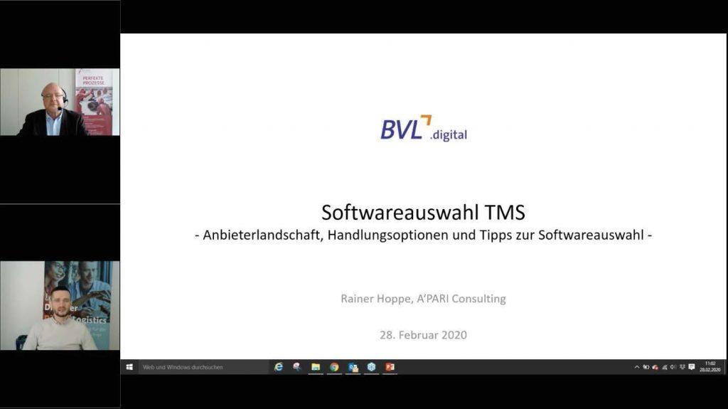 Softwareauswahl TMS – Betriebliche und technologische Anforderungen