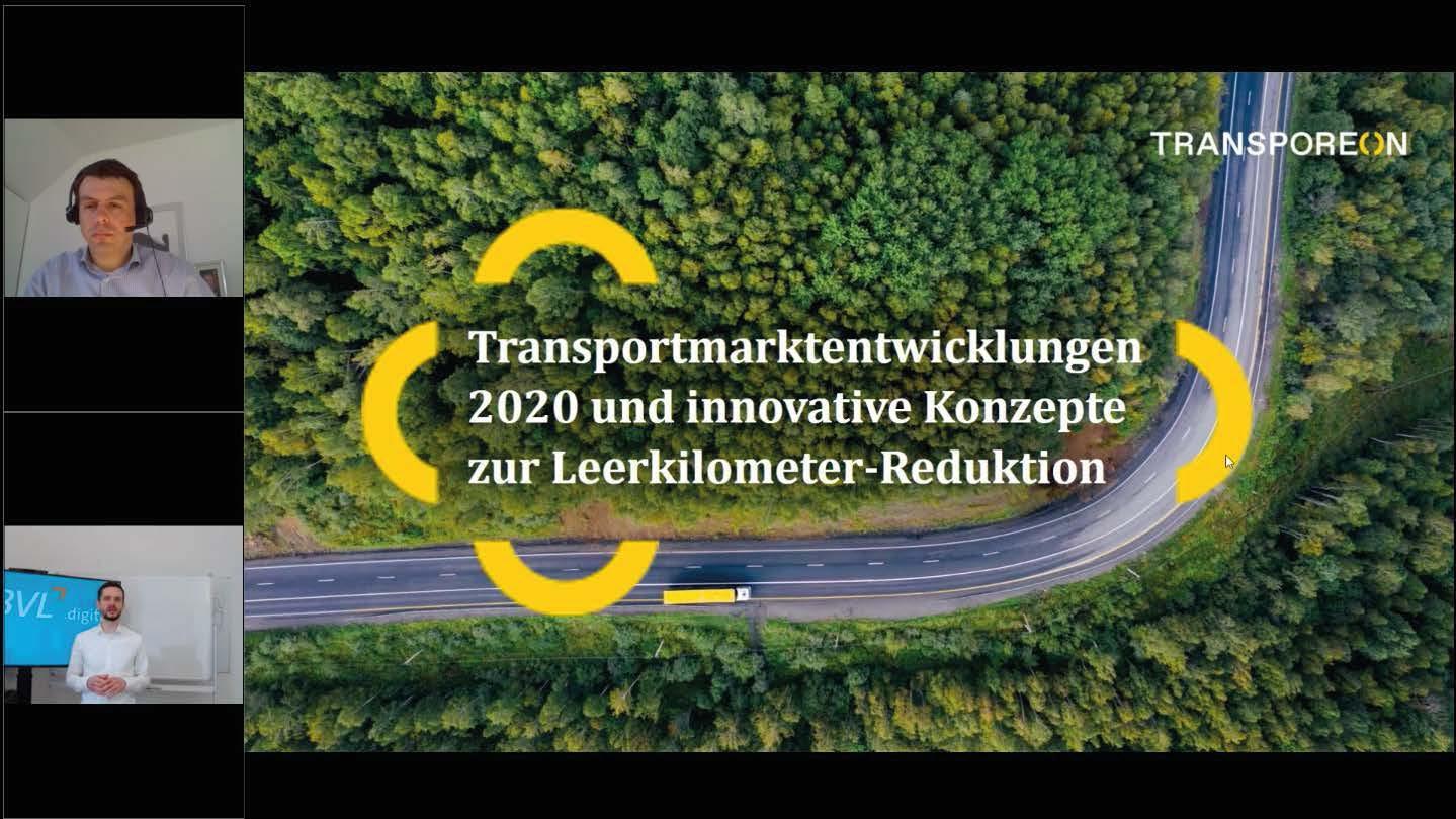 Transportmarktentwicklungen 2020 und innovative Konzepte zur Leerkilometer-Reduktion