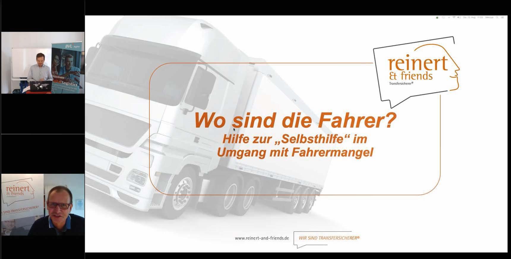 Der Fahrer wartet im Netz – Digitale Ansprache zur Arbeitnehmergewinnung