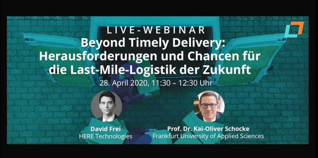 Beyond Timely Delivery: Herausforderungen und Chancen für die Last-Mile-Logistik der Zukunft
