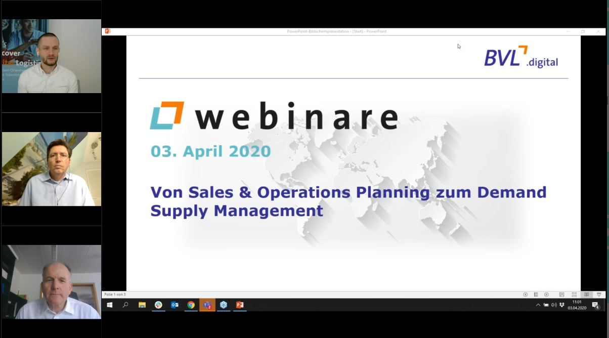 Von Sales & Operations Planning zum Demand Supply Management