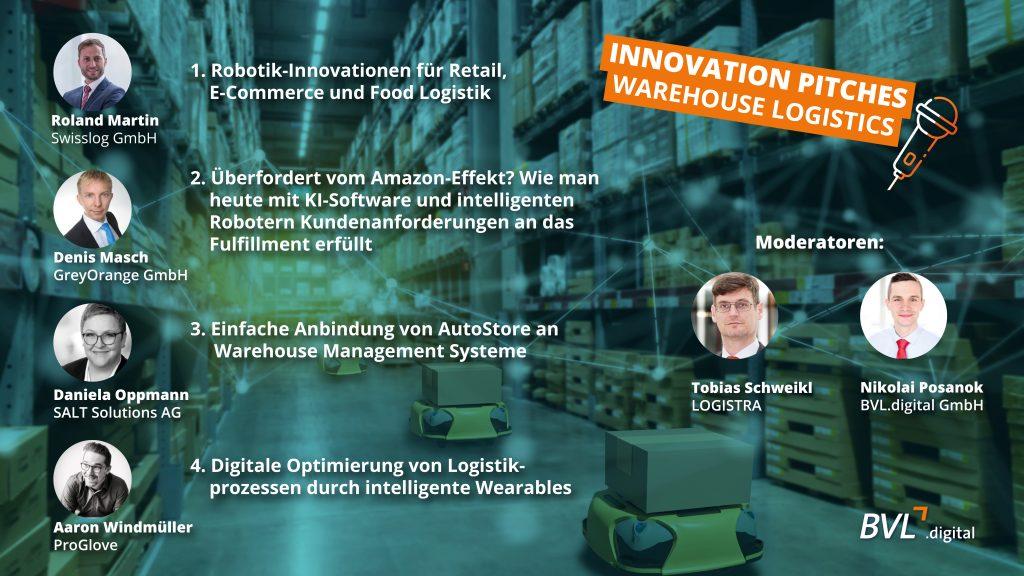Innovation Pitches – Warehouse Logistics