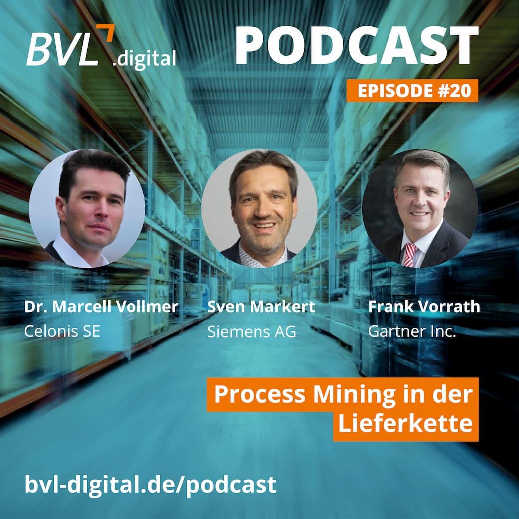 #20: Process Mining in der Lieferkette mit Siemens, Celonis und Gartner