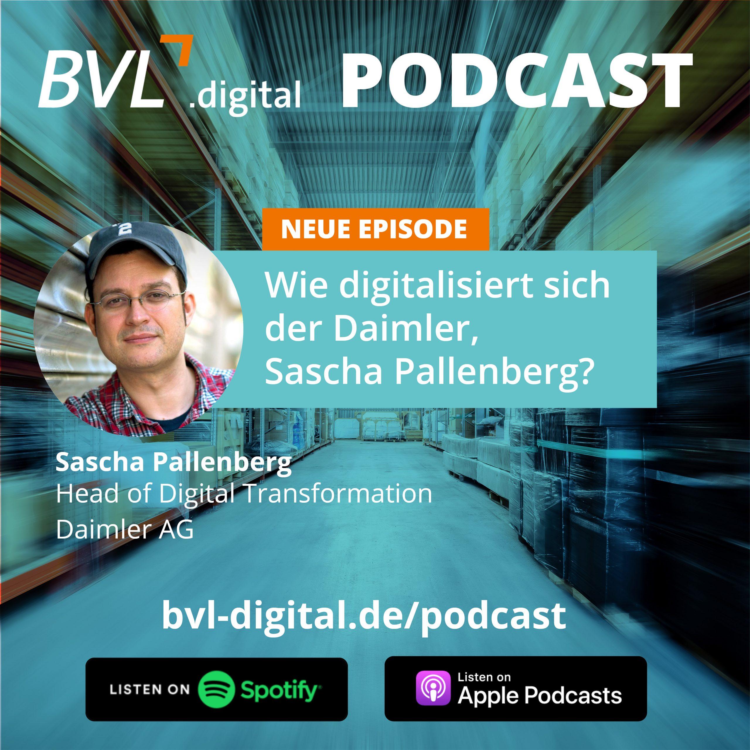 #2: Wie digitalisiert sich der Daimler, Sascha Pallenberg?