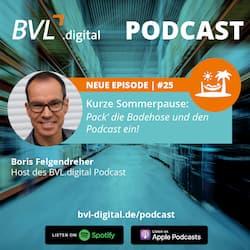 #25: Kurze Sommerpause – Pack' die Badehose und den Podcast ein!