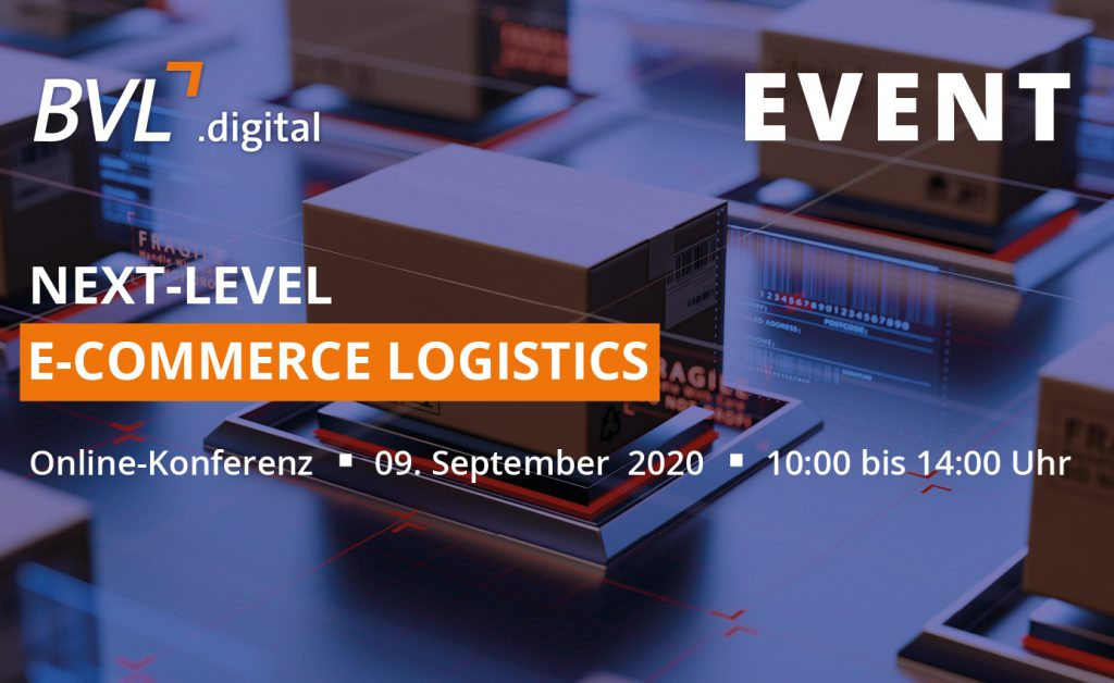Die Online-Konferenz Next Level E-Commerce Logistics