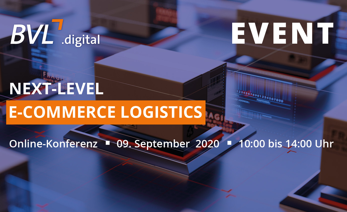 Die Online-Konferenz Next-Level E-Commerce Logistics