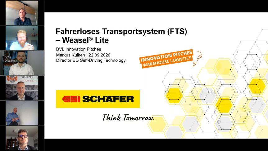 Innovation Pitches – Warehouse Logistics 2