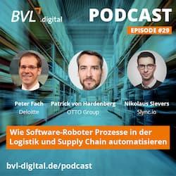 #29: Wie Software-Roboter Prozesse in der Logistik und Supply Chain automatisieren