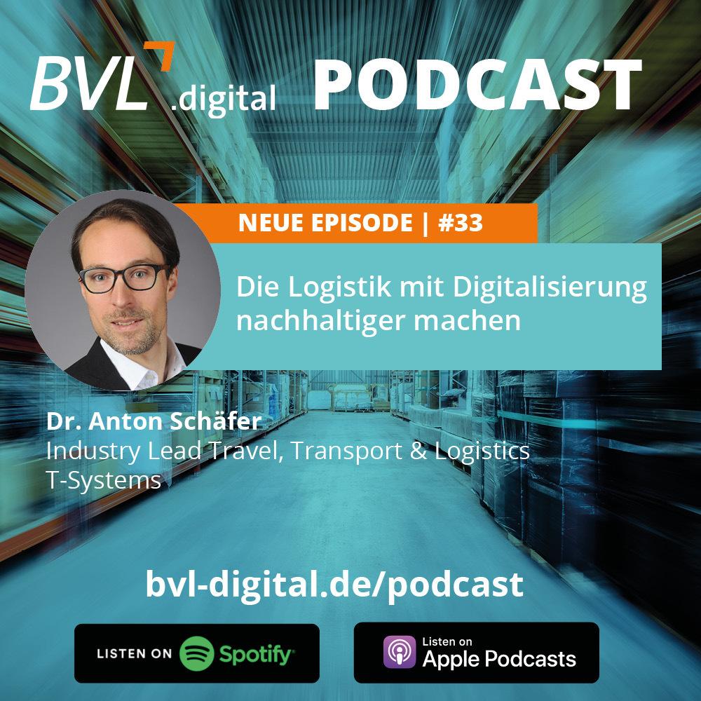 #33: Die Logistik mit Digitalisierung nachhaltiger machen
