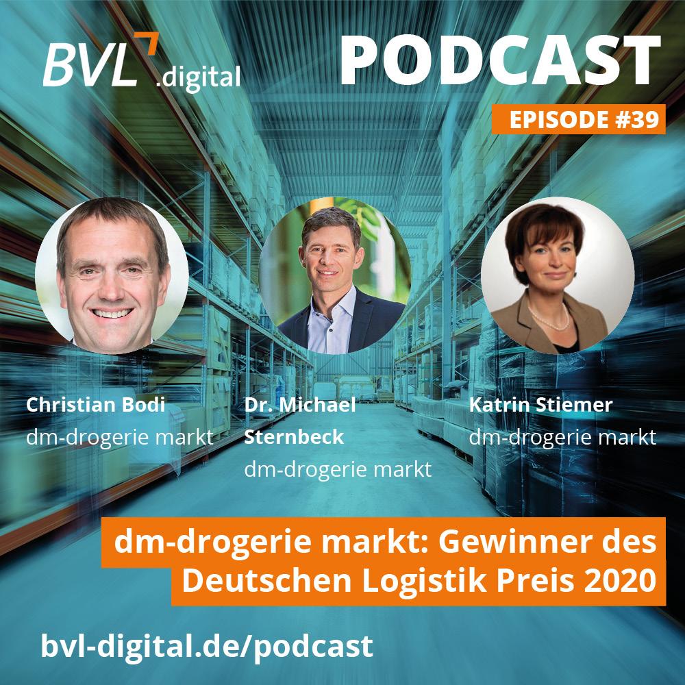 #39: dm-drogerie markt: Gewinner des Deutschen Logistik-Preises 2020
