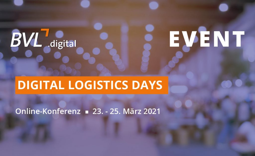 "Die BVL.digital ""Digital Logistics Days"""