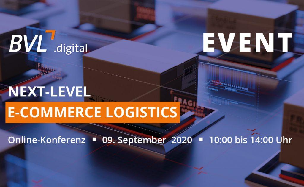 Online-Konferenz - NEXT-LEVEL E-Commerce Logistics
