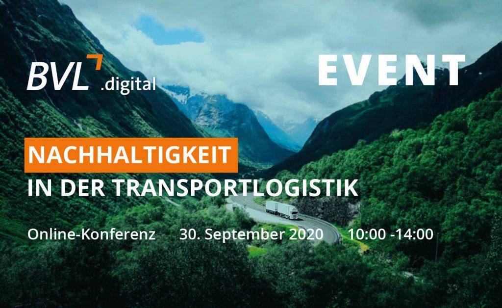 Online-Konferenz - Nachhaltigkeit in der Transportlogistik