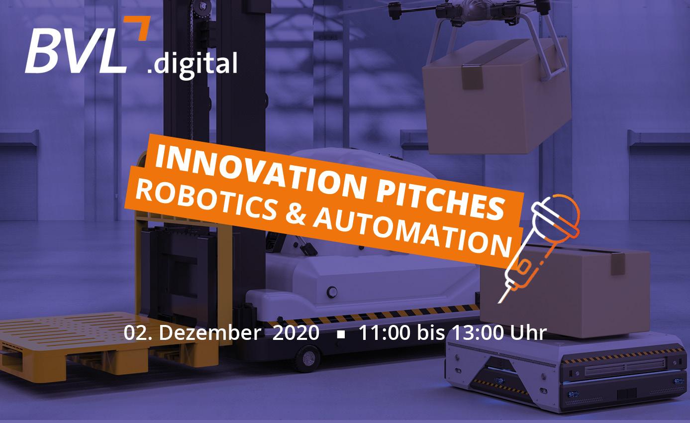Innovation Pitches - Robotics & Automation