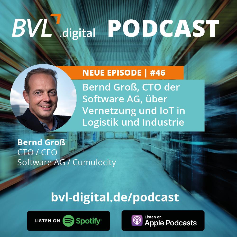 #46: Bernd Groß, CTO der Software AG, über Vernetzung und IoT in Logistik und Industrie
