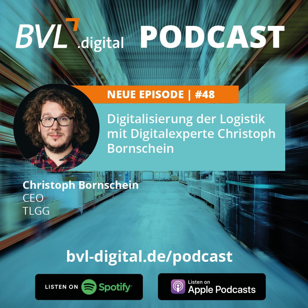 #48: Digitalisierung der Logistik mit Digitalexperte Christoph Bornschein