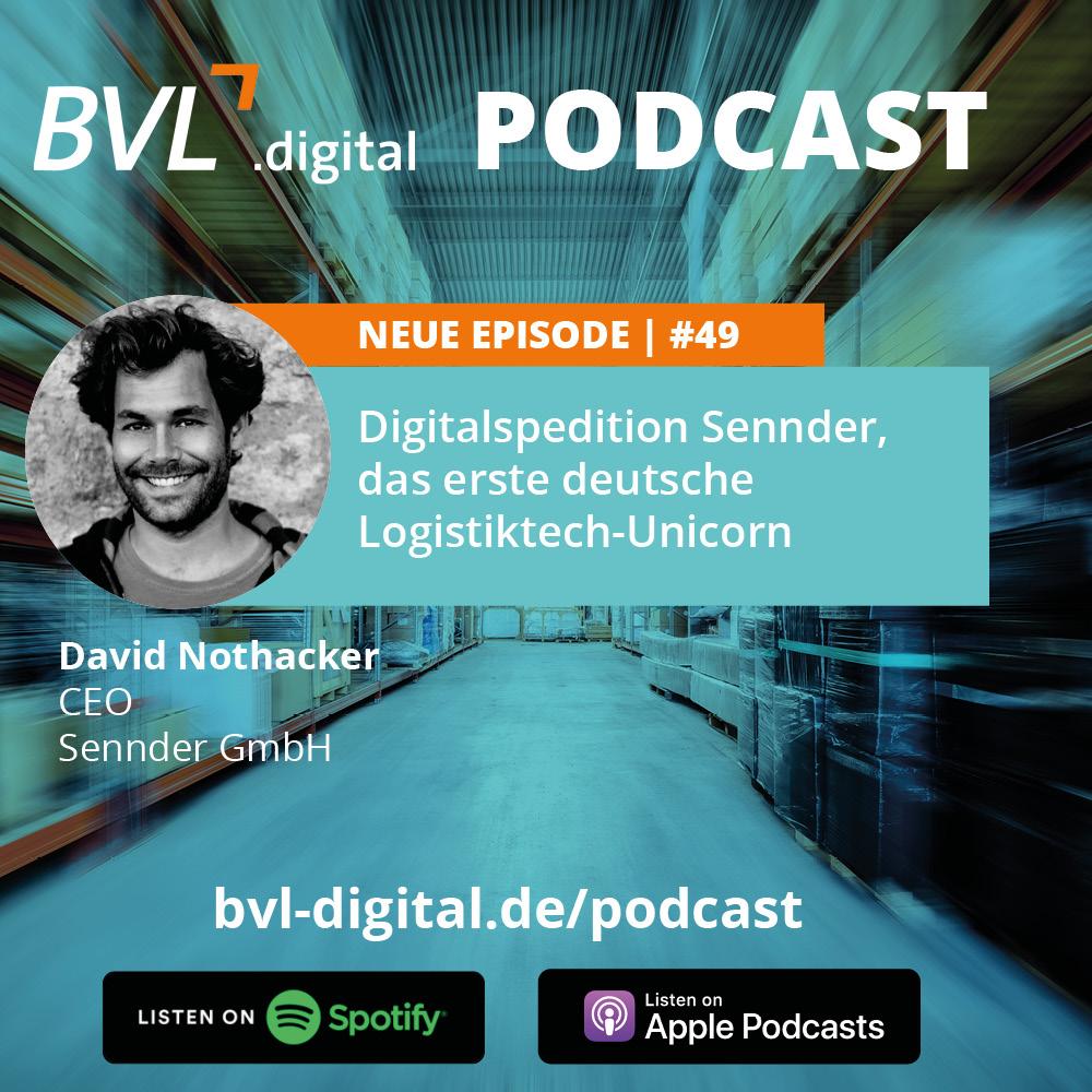 #49: Digitalspedition Sennder, das erste deutsche Logistiktech-Unicorn