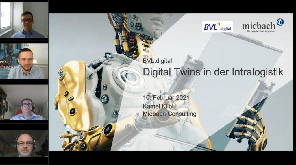 Digital Twins in der Intralogistik