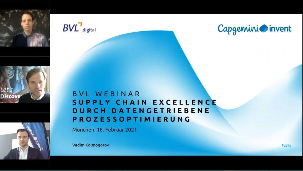 Supply Chain Excellence durch datengetriebene Prozessoptimierung: Wie muss die Logistik sich verändern?