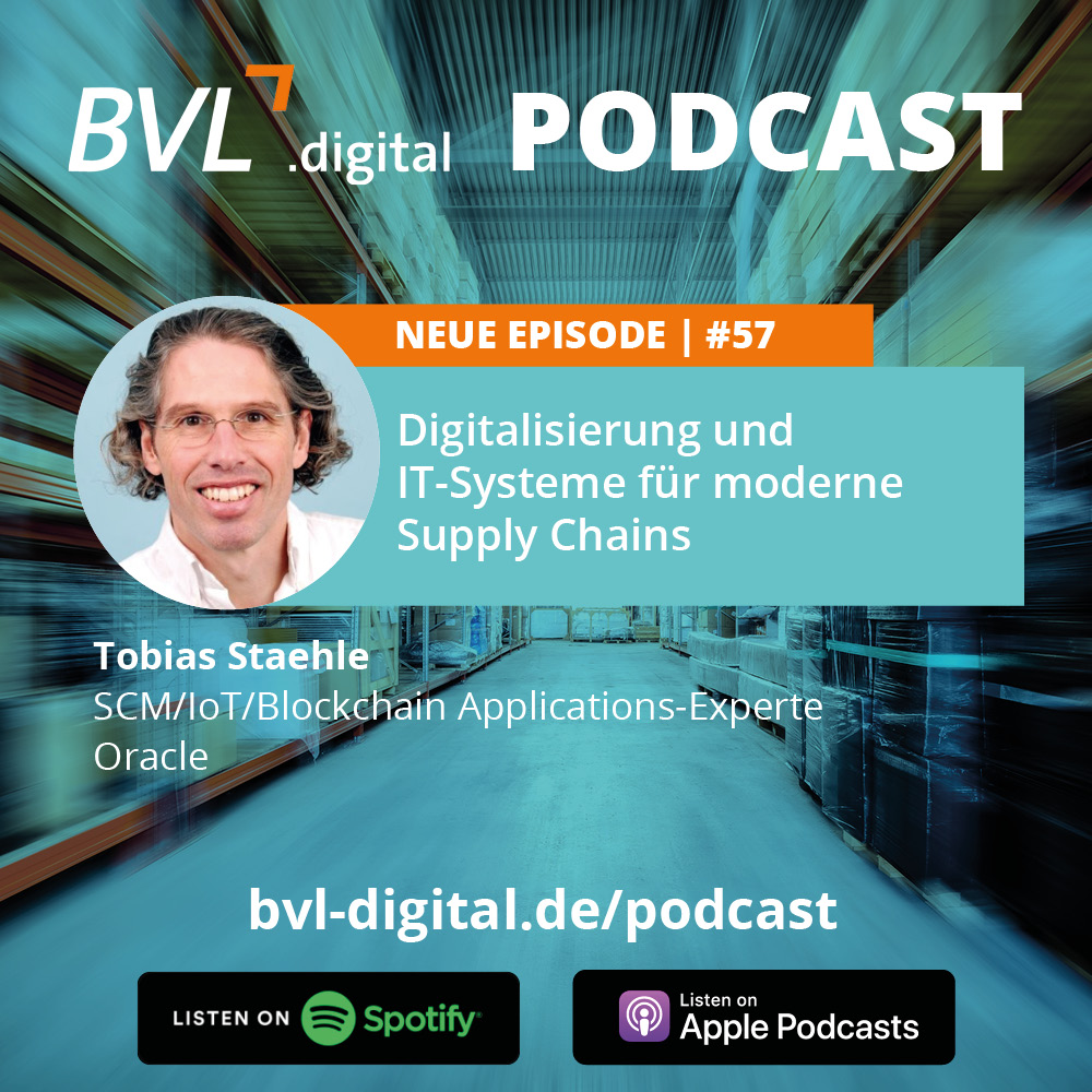 #57: Digitalisierung und IT-Systeme für moderne Supply Chains