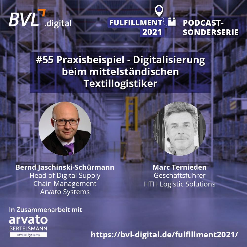 #55: Praxisbeispiel – Digitalisierung beim mittelständischen Textillogistiker