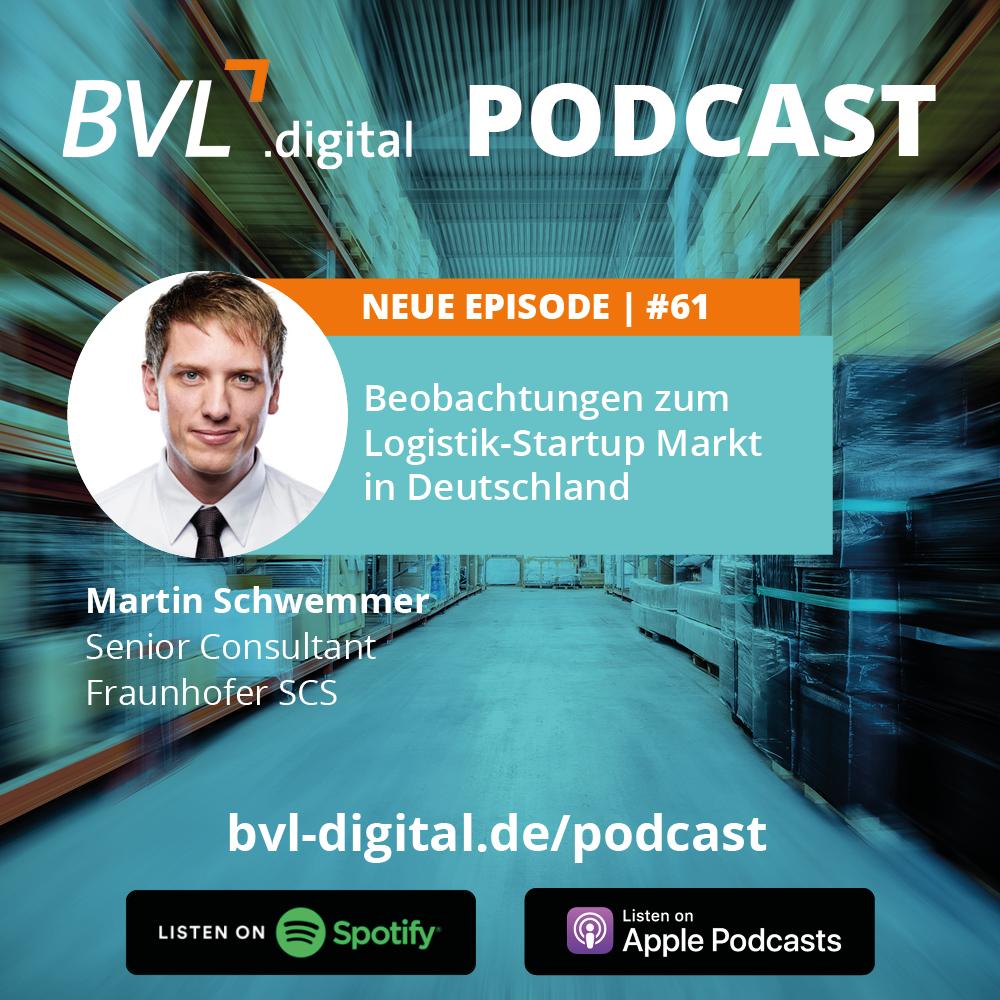 #61: Beobachtungen zum Logistik-Startup Markt in Deutschland
