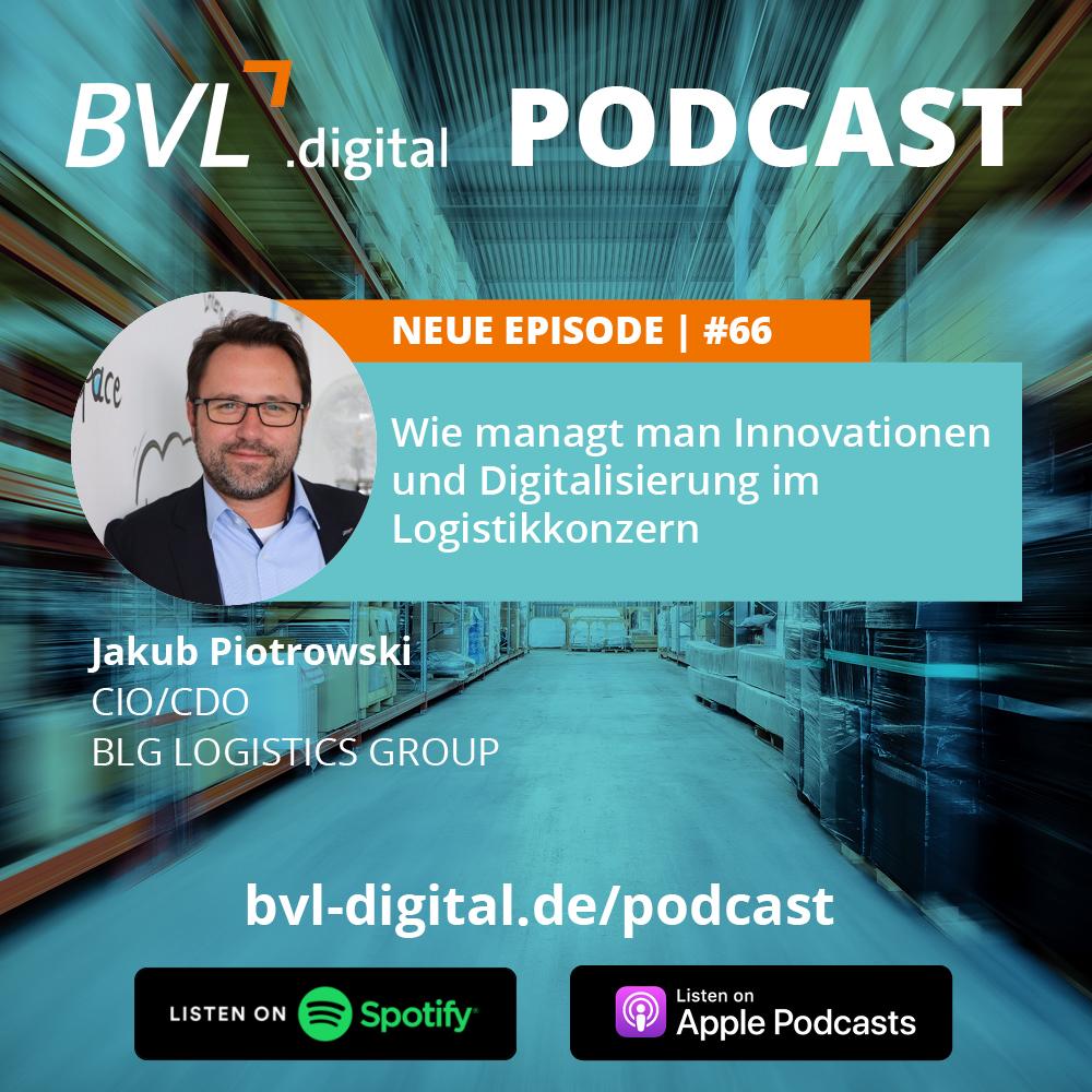 #66: Wie managt man Innovationen und Digitalisierung im Logistikkonzern