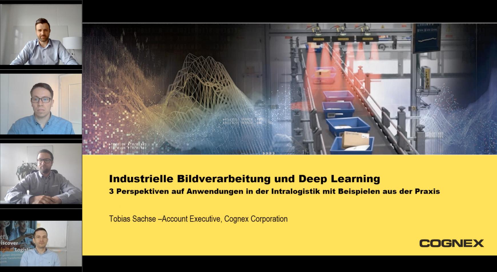 Industrielle Bildverarbeitung und Deep Learning – 3 Perspektiven auf Anwendungen in der Intralogistik aus der Praxis