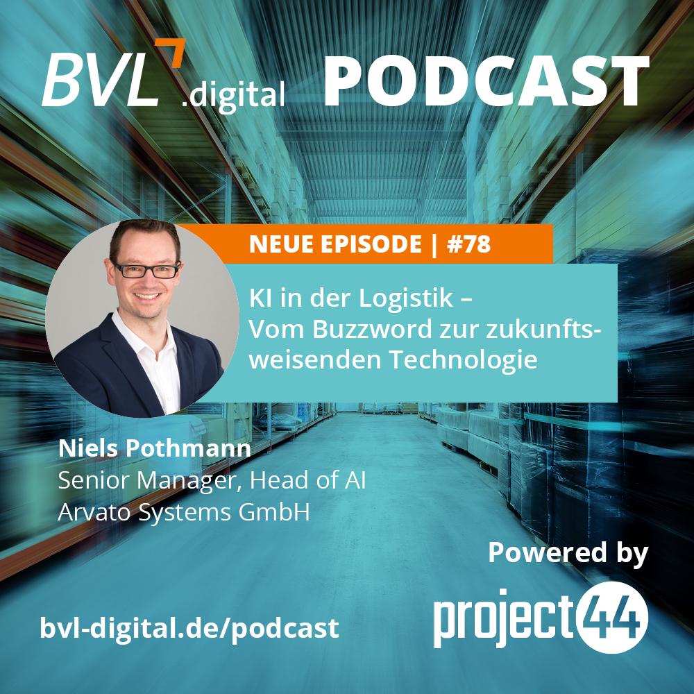 #78: KI in der Logistik – Vom Buzzword zur zukunftsweisenden Technologie